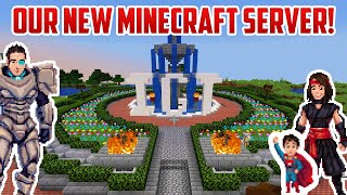 Our NEW MINECRAFT SERVER V2! JOIN US!