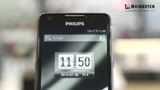 philips xenium w6610 unboxing review