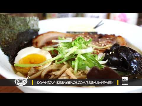 Dine Out Downtown Delray Restaurant Week 2018: Ramen Lab Eatery