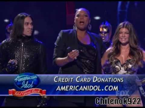 Season 9:Black Eyed Peas - Rock That Body(Live On American Idol 2010)(Top 7)