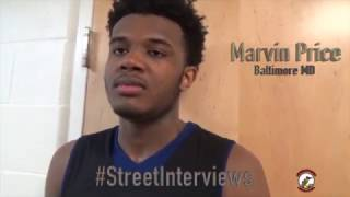 Street Interviews: Marvin Price