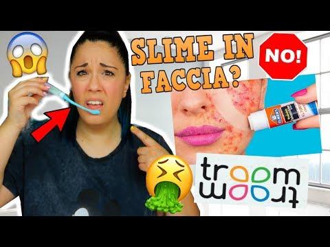 PROVO SLIME E TRUCCHI STRANI DI TROOM TROOM! (SLIME E COLLA IN FACCIA?) Iolanda Sweets