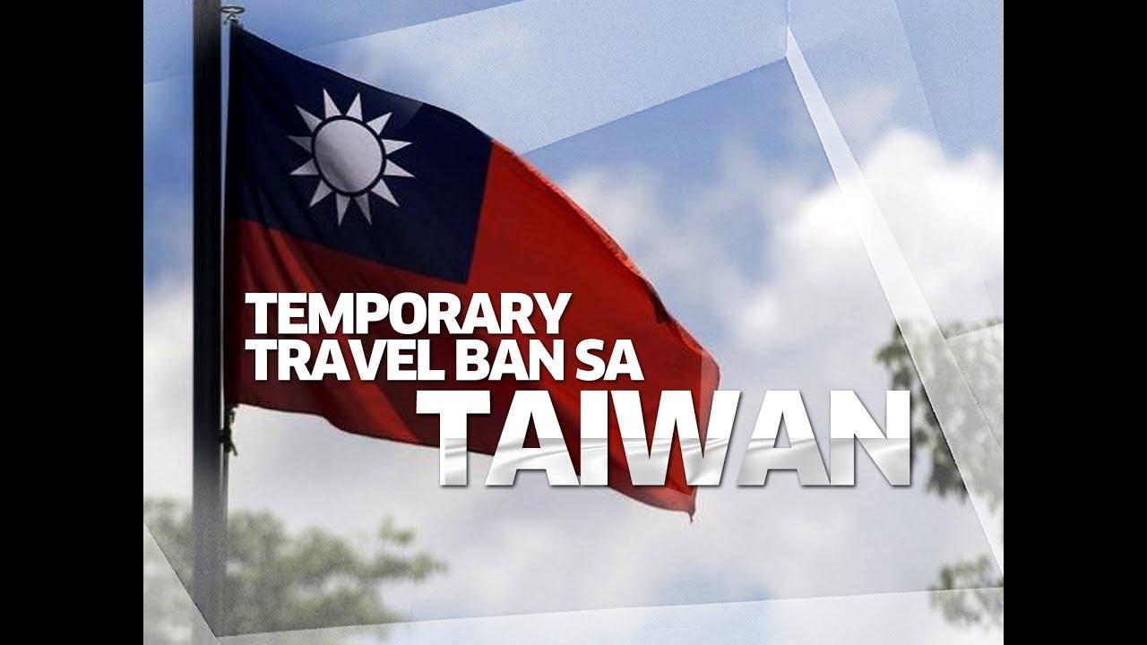 SONA: Taiwan, sakop na rin ng temporary travel ban ng gobyerno