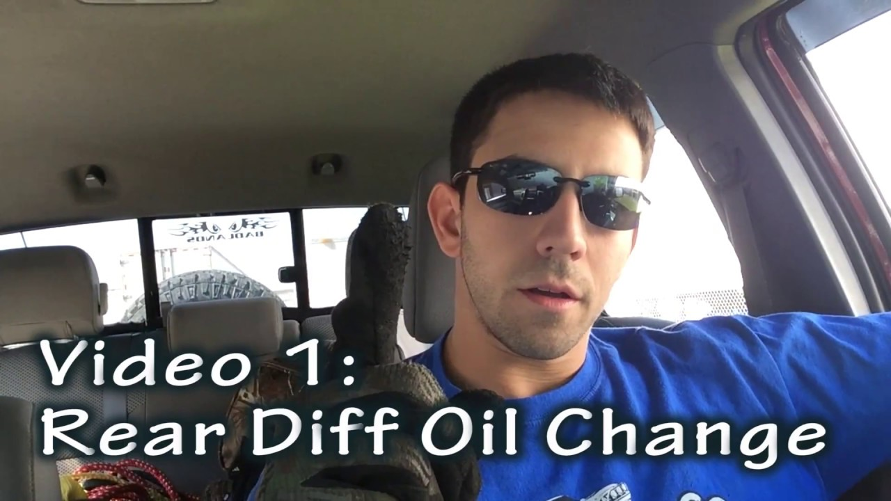 Rear Differential Fluid Change - FULL VIDEO