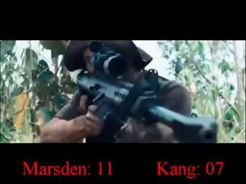 Rambo (2008) Matthew Marsden & Tim Kang Killcount