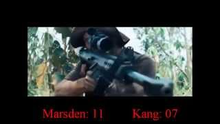 Rambo (2008) Matthew Marsden & Tim Kang Killcount