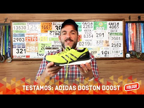 319f34149d1342 Testamos  Adidas Boston Boost - YouTube