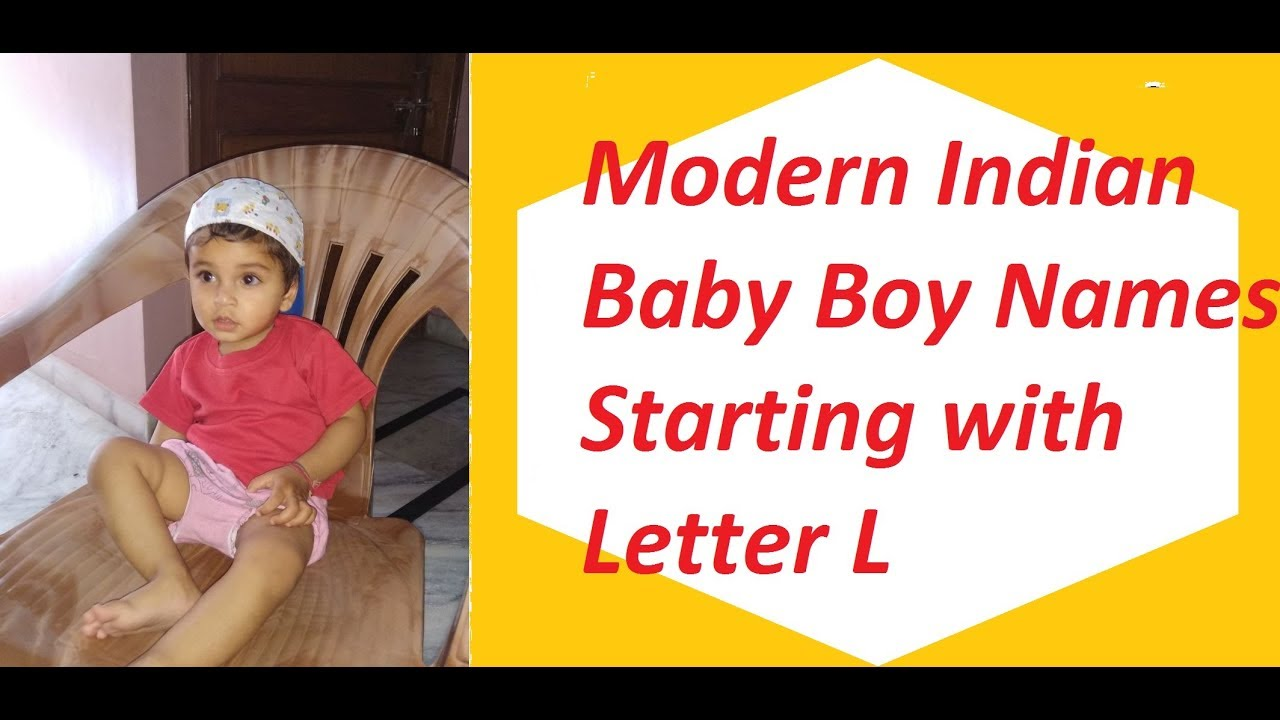 Modern Indian Baby Boy Names Starting with Letter L