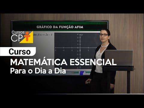 Clique e veja o vídeo Curso Matemática Essencial para o Dia a Dia