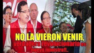 Ultima Hora! Fuerte cachetada al FMLN Nayib Bukele anuncia tercer ministra de su gobierno