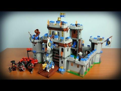 Lego Castle Zamek Królewski 70404 Recenzja Youtube
