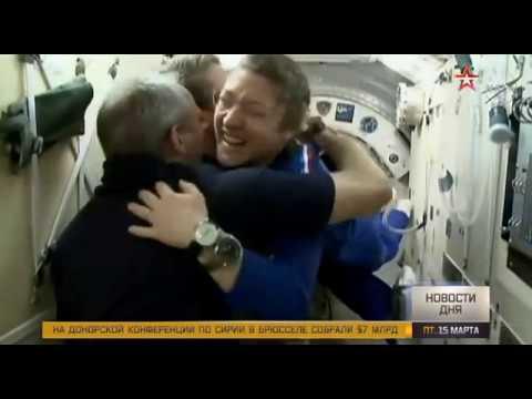 Экипаж космического корабля «Союз МС-12» успешно перешел на борт МКС