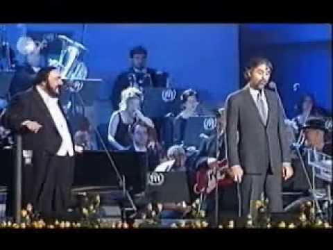 Andrea Bocelli and Luciano Pavarotti Medley