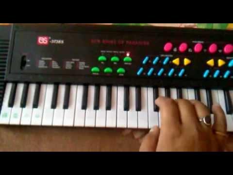 Teri Meri (BodyGuard) on Beginners Keyboard/Piano Tutorial