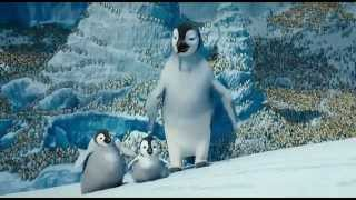 Happy Feet 2 Yodel Scene -  Freerunner Penguin