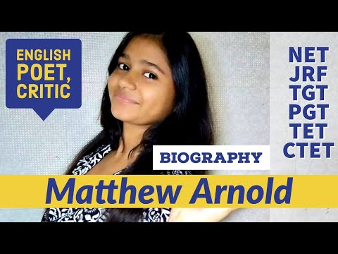 Biography of Matthew Arnold |  English poet and cultural critic