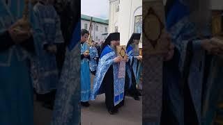 Благовещение Пресвятой Богородицы 2020 год,Екатеринский мужской монастырь, Видное, Москва.