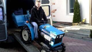 Sprzedaż używanych mini traktorków ciagników ogrodniczych. www.akant-ogrody.pl