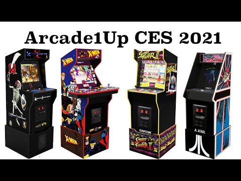 Arcade1Up CES 2021 from Original Console Gamer