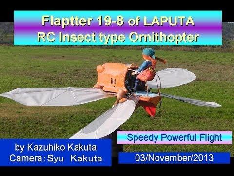フラップター:Flaptter19-8  Very good Speedy Powerful Flight