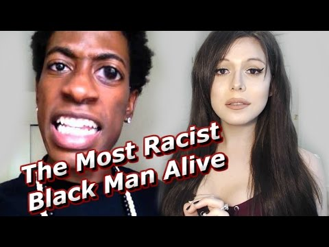 The Most Rαcist Black Man Alive Is Scared Of Me