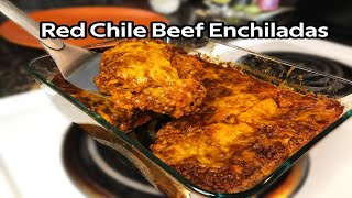 How to Make the BEST Red Chile Beef Enchiladas -- Classic New Mexican Recipe