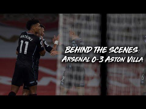 BEHIND THE SCENES | Arsenal 0-3 Aston Villa