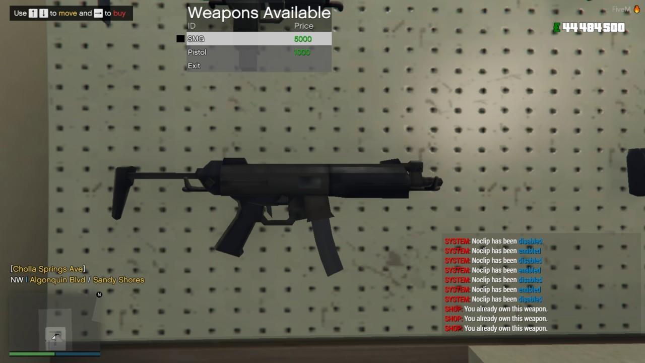 AdvancedRP Weapon shop | FiveM by Kanersps _
