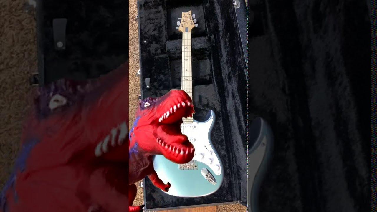 Dinosaur Ate My Guitar #Shorts