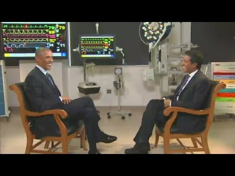 Dr. Sanjay Gupta interviews President Obama
