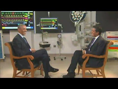 Dr. Sanjay Gupta interviews President Obama