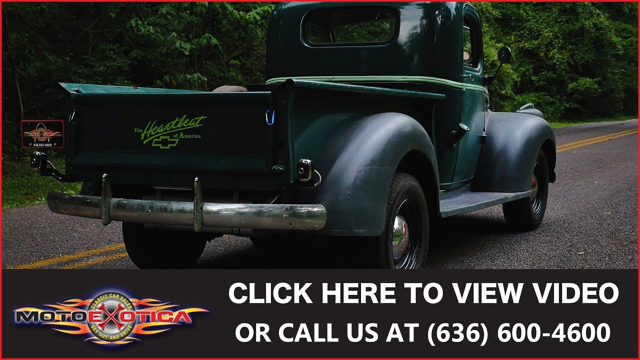 1946 Chevrolet Pickup || SOLD - YouTube