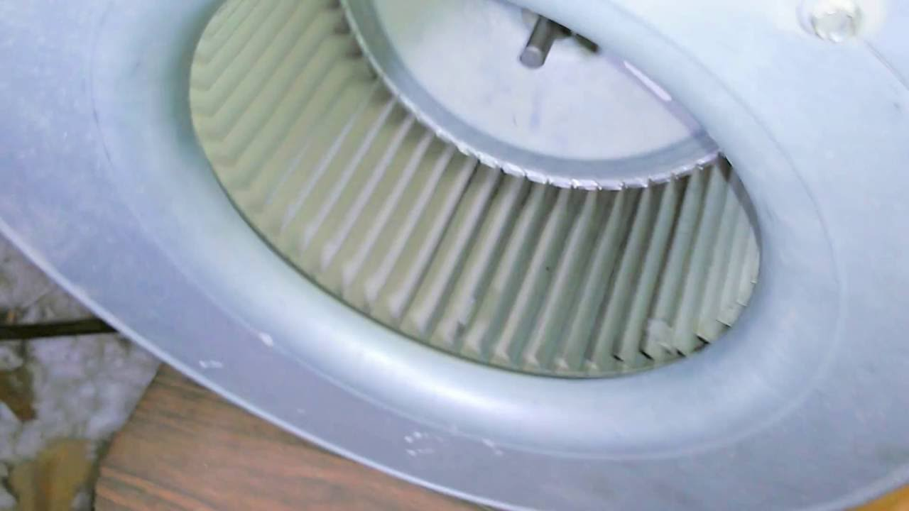 Goodman Motor Blower Wheel Good Bad Temp Fix!