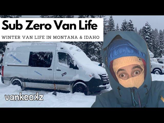 How to Stay Warm in Winter Van Life | WInter Van Life Camping