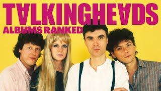 Talking Heads Albums Ranked From Worst to Best