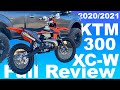 2020 And 2021 Ktm 300 Xc W Full Review