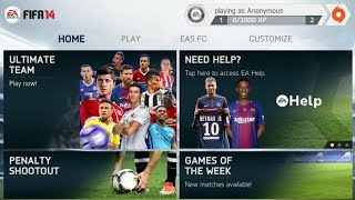 FIFA 14 Mod FIFA 18 Android Offline Apk+Data New Kits New Balls All Stadiums Unlocked