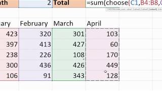 Excel CHOOSE Function Examples - An Unknown Excel Lookup Function