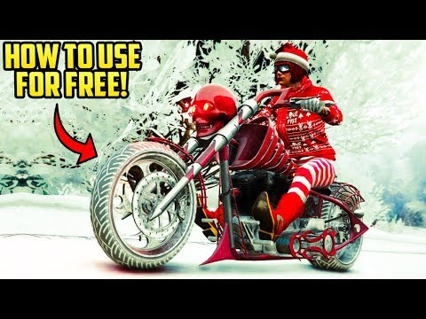 GTA ONLINE - HOW TO USE ALL UPCOMING HALLOWEEN VEHICLES EARLY FOR FREE!