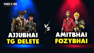 TOTAL GAMING VS DESI GAMERS AND ROMEO GAMERS CLASH SQUAD BATTLE GAMEPLAY - GARENA FREE FIRE