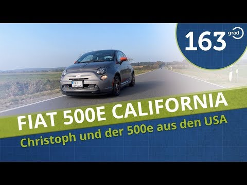 Fiat 500e California eSport von Christoph -  US-Import mit E