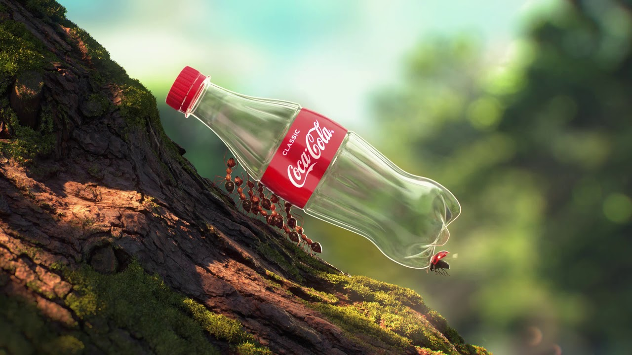 Coca-Cola's Bottles Get Recycled By… Insects In Its New