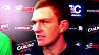 craig gardner goal and interview blues 3 vs west ham 1