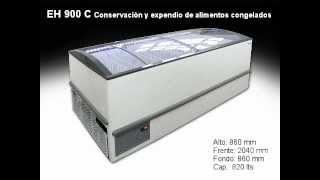 Exhibidora horizontal modelo EH 900 C