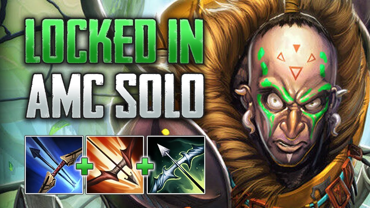 ESCAPE FROM THE CAGE! Ah Muzen Cab Solo Gameplay (SMITE Conquest)