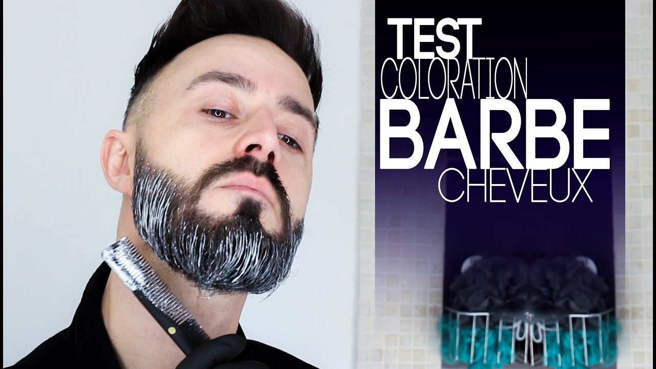 Superbe Coloration Barbe