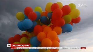все як зробити серце з повітряних кульок