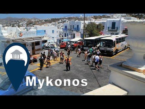 Mykonos | Getting around Mykonos with the bus