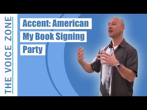 Accent: American - My Book Signing Party