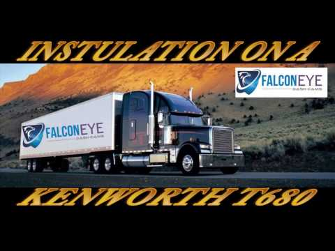 Falcon Eye 4 Camera Instalation On A Kenworth T680